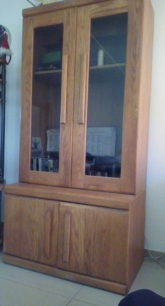 Oak Cabinet For Sale