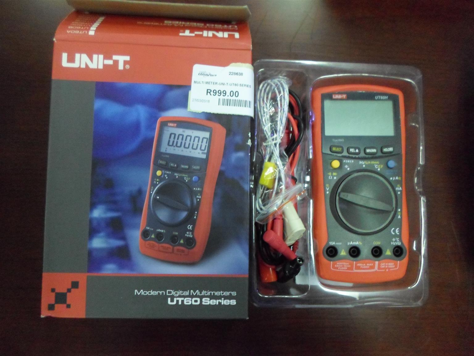 UNI-T UT60 Series Multimeter