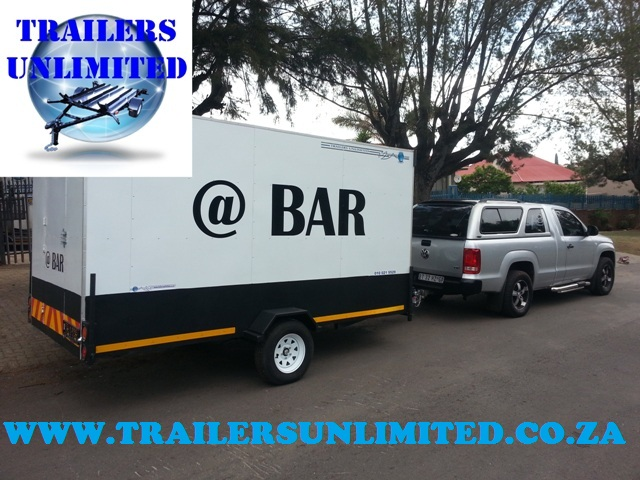 MOBILE BAR TRAILERS.      @ BAR.