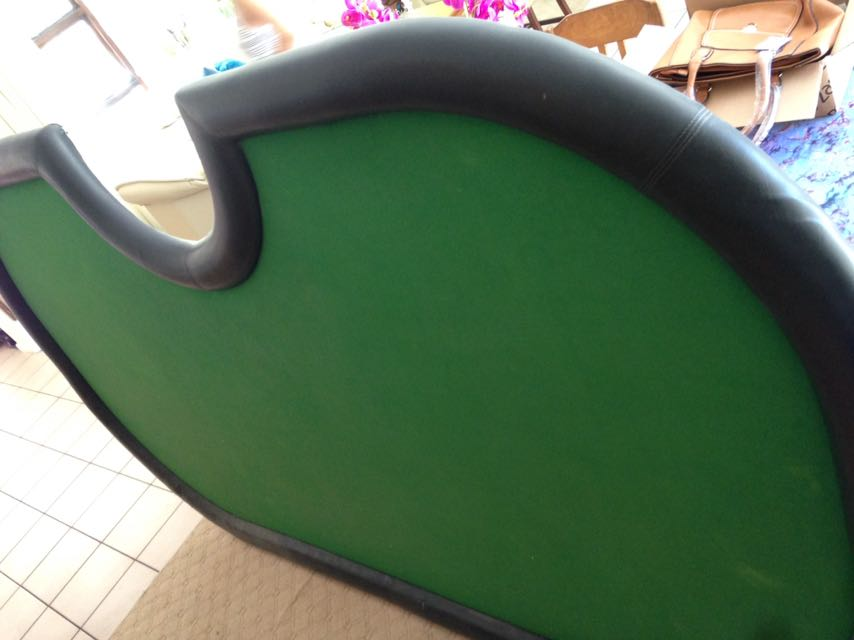 must have poker table with dealers seat