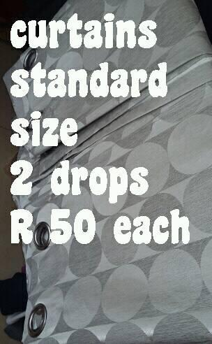 Curtains standard size