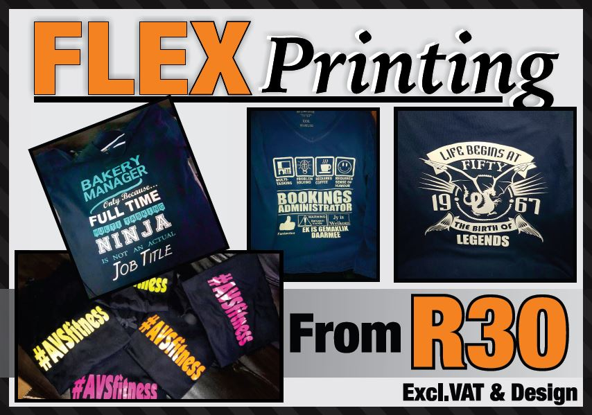 flex t-shirt print