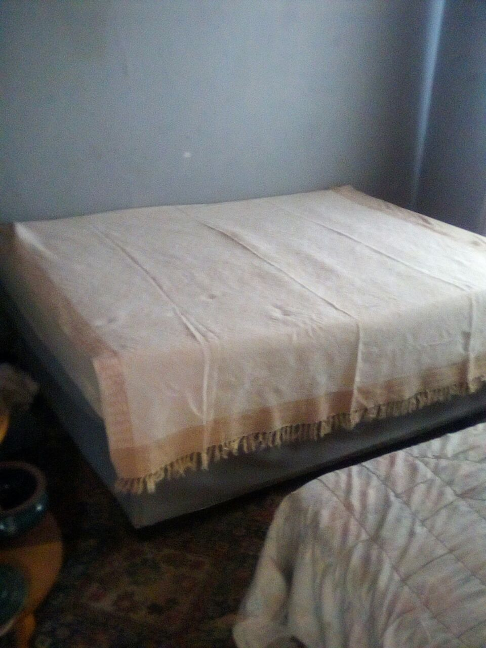 QUEEN SIDE BED BASE AND MATRESS FOR SALE