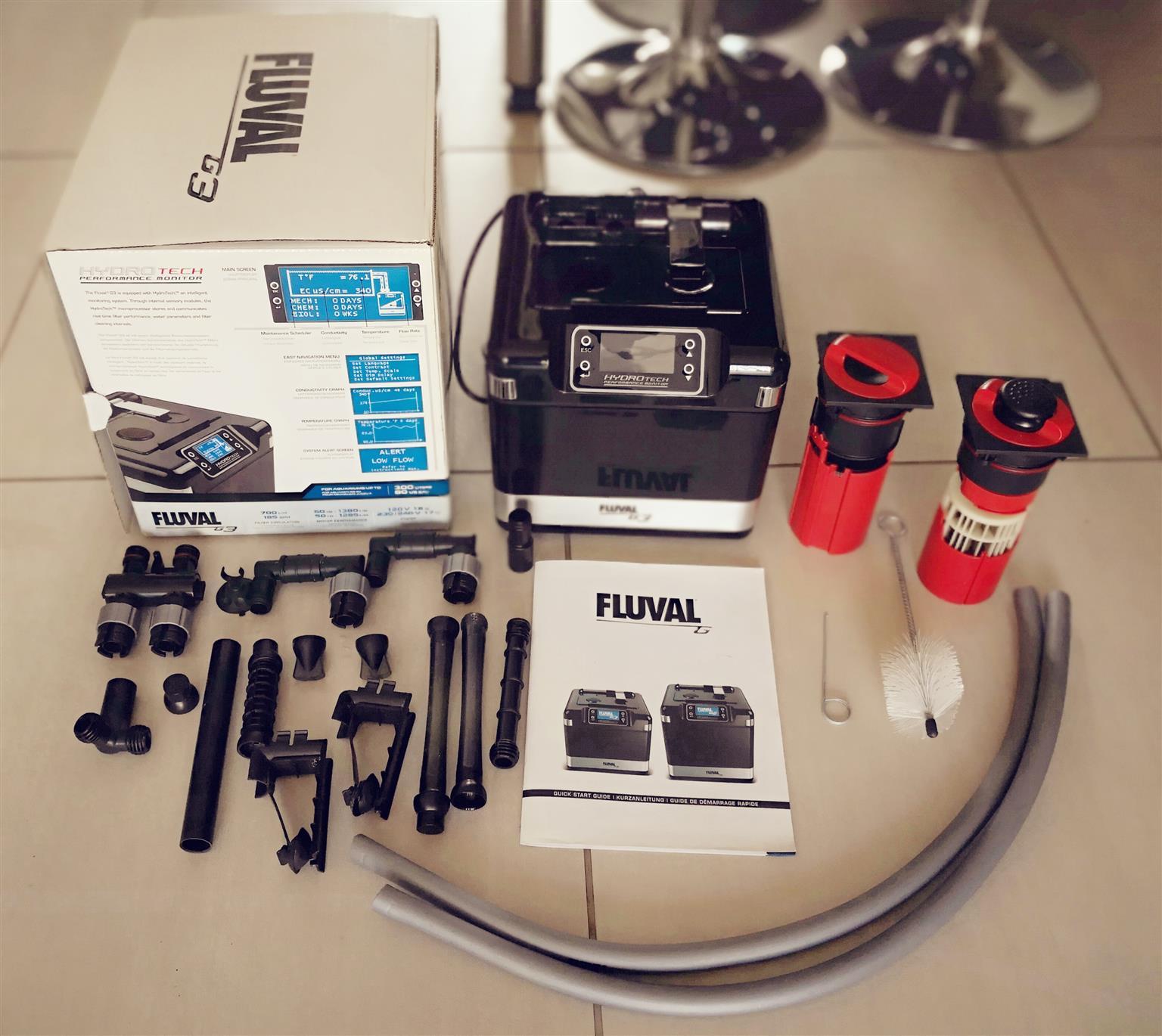 Fluval G3 Hydro Tech filter pump