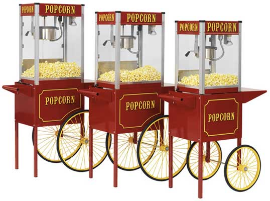 BRAND NEW POPCORN MACHINES FROM R1995