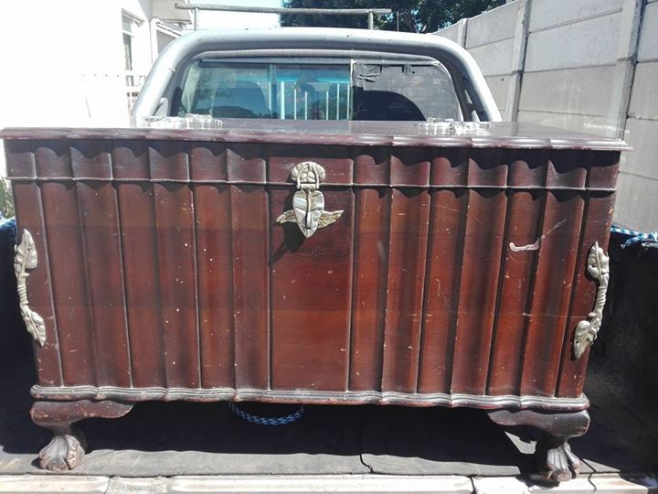 Old antique chest