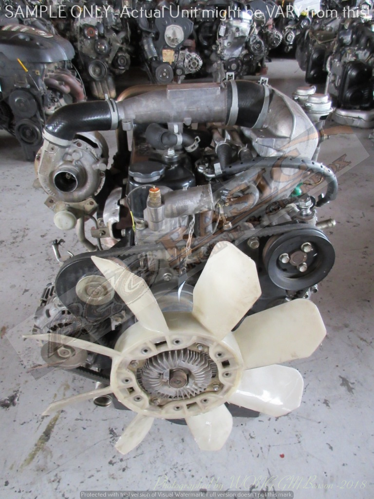 ISUZU KB250 -4JA1 2 5L TURBO DIESEL EFI Engine -COMMON RAIL | Junk Mail