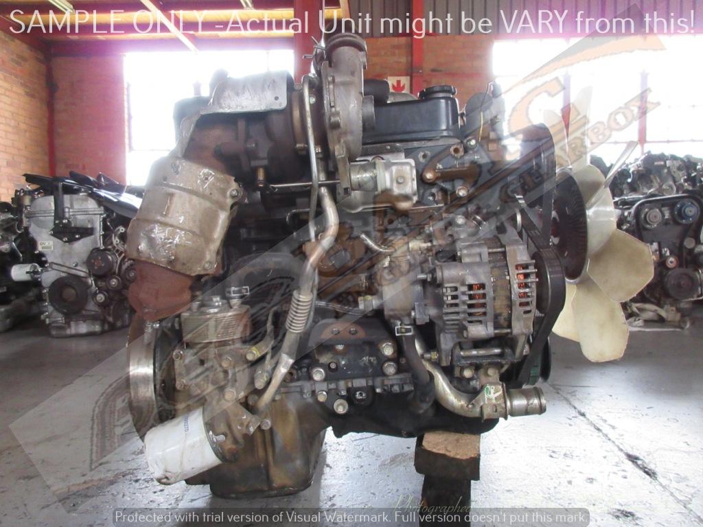 ISUZU KB250 -4JA1 2.5L TURBO DIESEL EFI Engine -COMMON RAIL