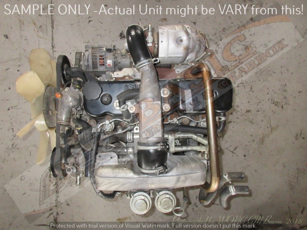 ISUZU KB250 -4JA1 2.5L TURBO DIESEL EFI Engine -COMMON RAIL