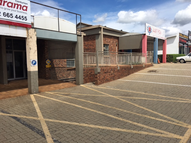 RETAIL / FACTORY / TO LET IN HIGHVELD PARK, CENTURION!