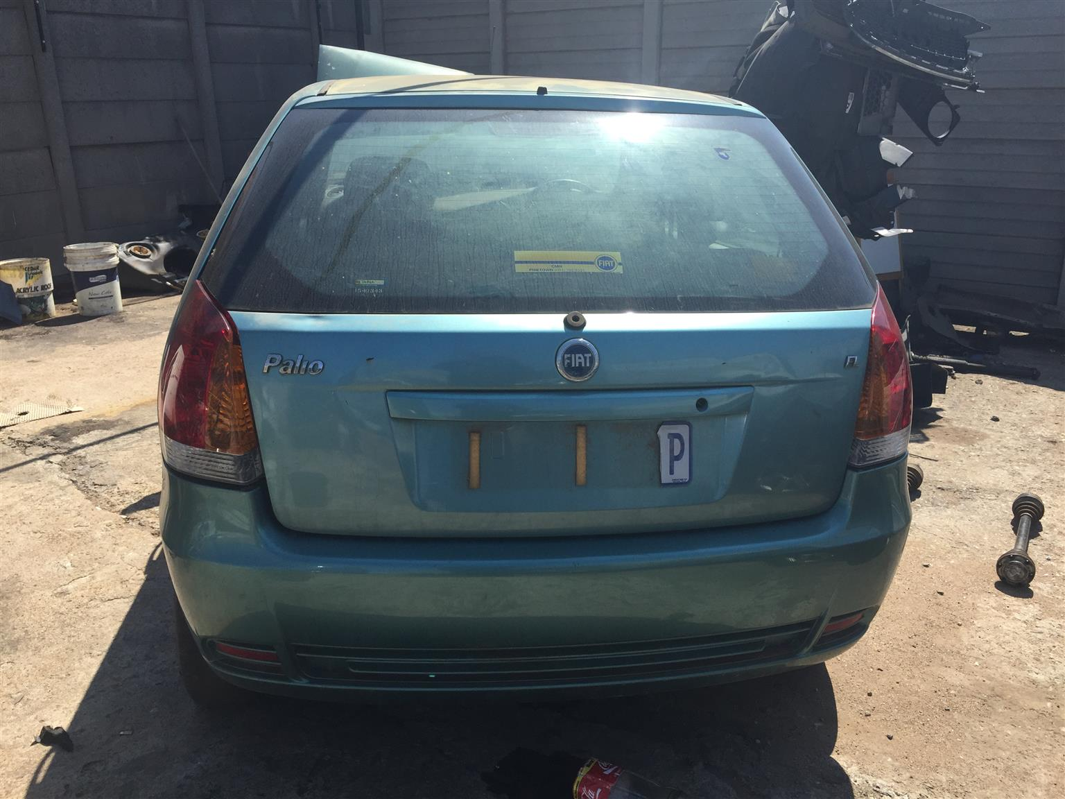 FIAT PALIO 1.2 STRIPPING FOR PARTS DOORS FOR SALE