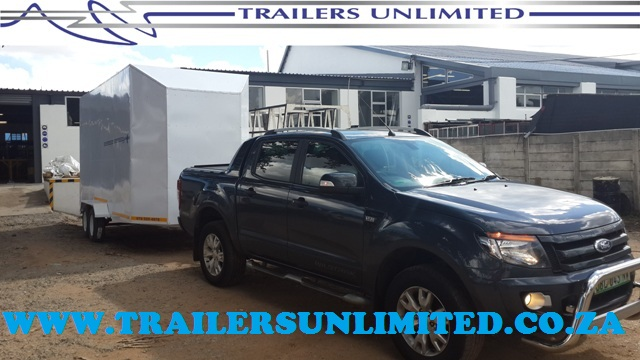 TRAILERS UNLIMITED. ENCLOSED TRAILERS.