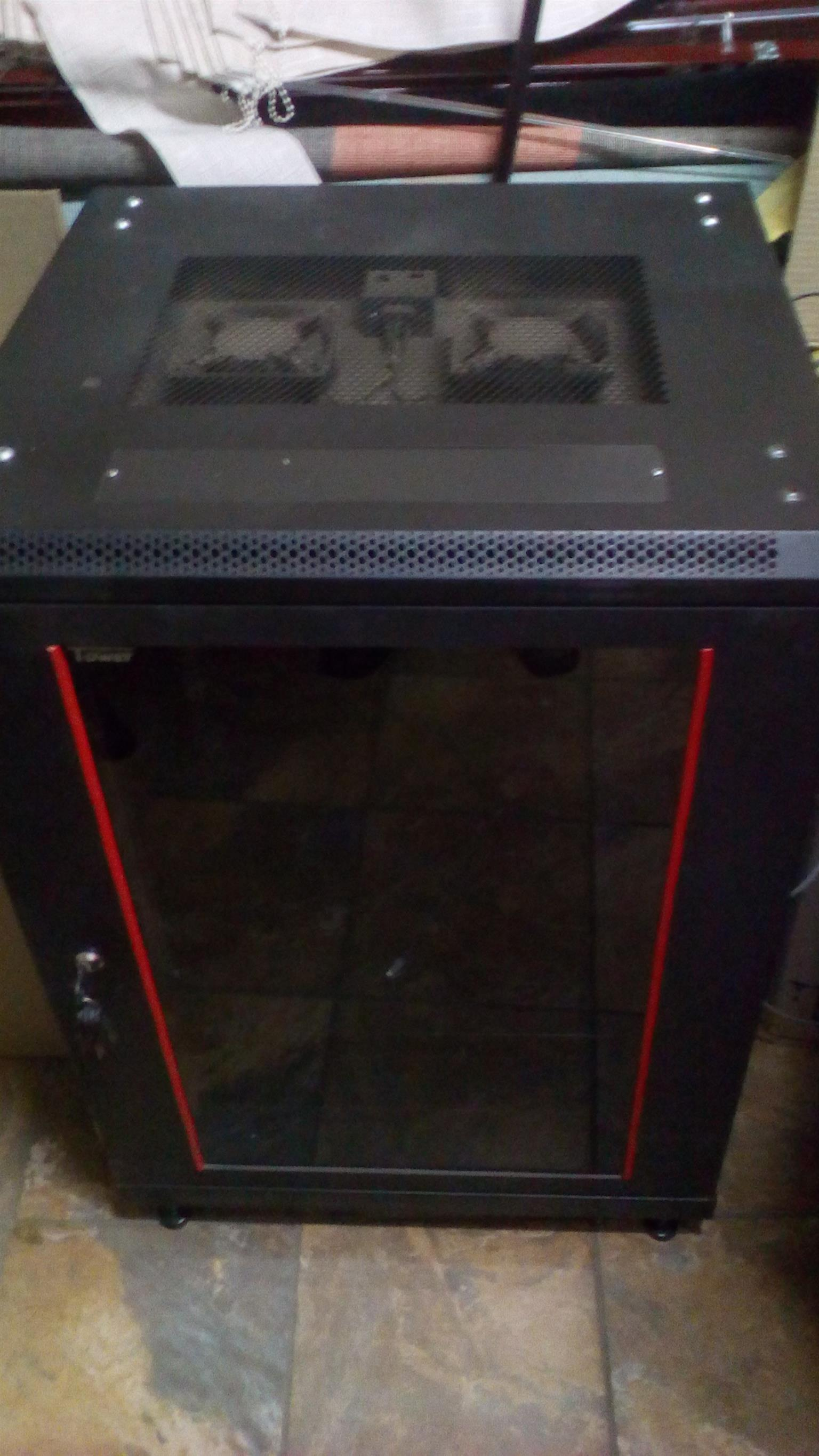 Glass Server cabinet for sale R1900