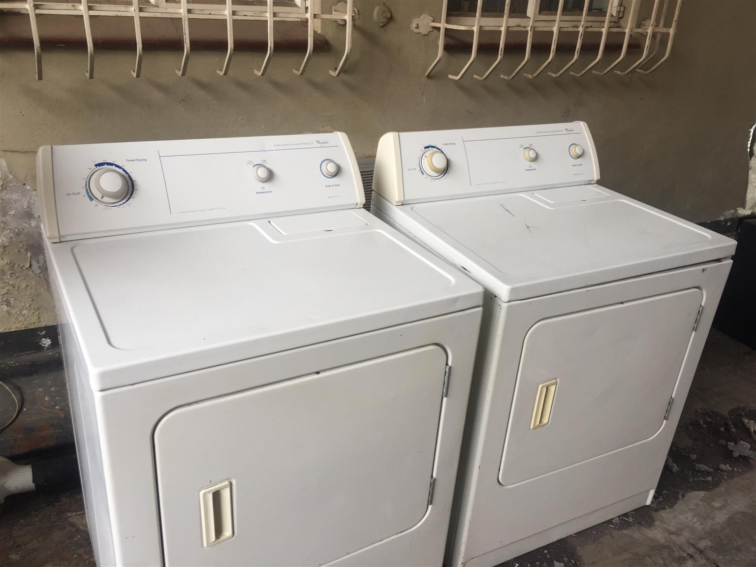 2 Fully Serviced Whirlpool Tumble Dryers
