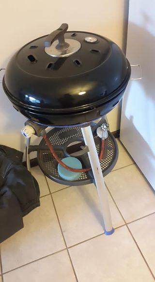 Gas kettle braai