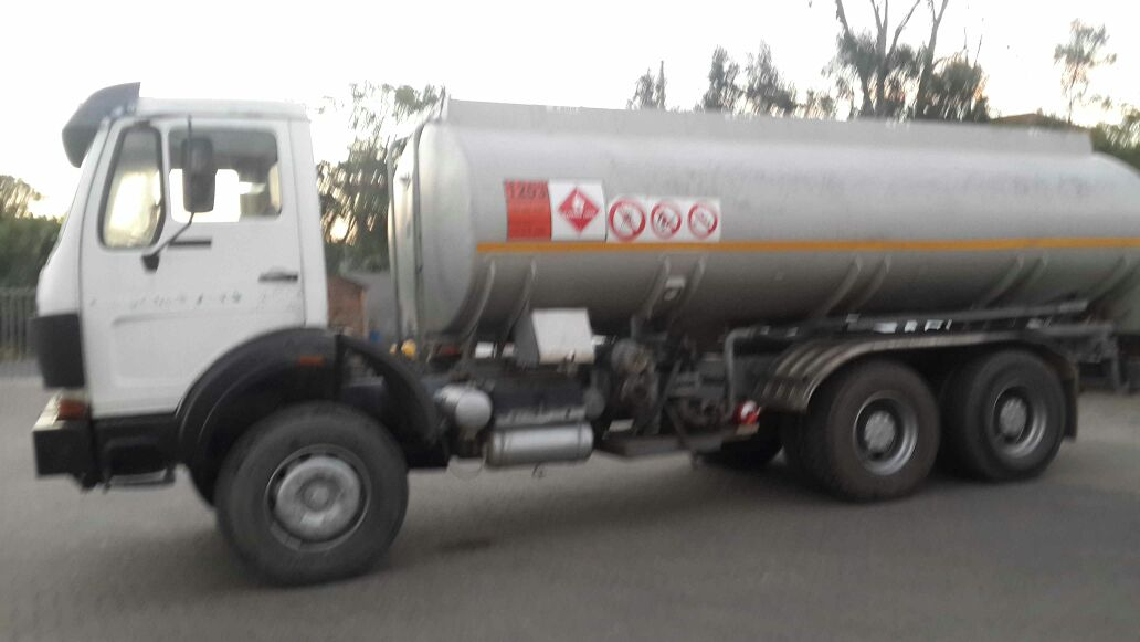 BIG ALUMINIUM DIESEL TANKER FOR SALE