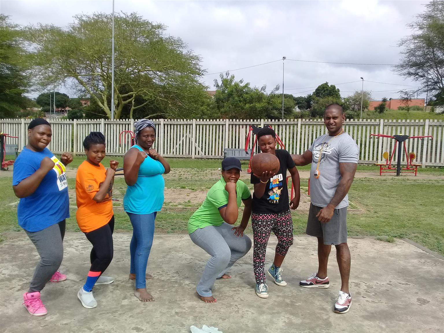 Free fitness bootcamp training