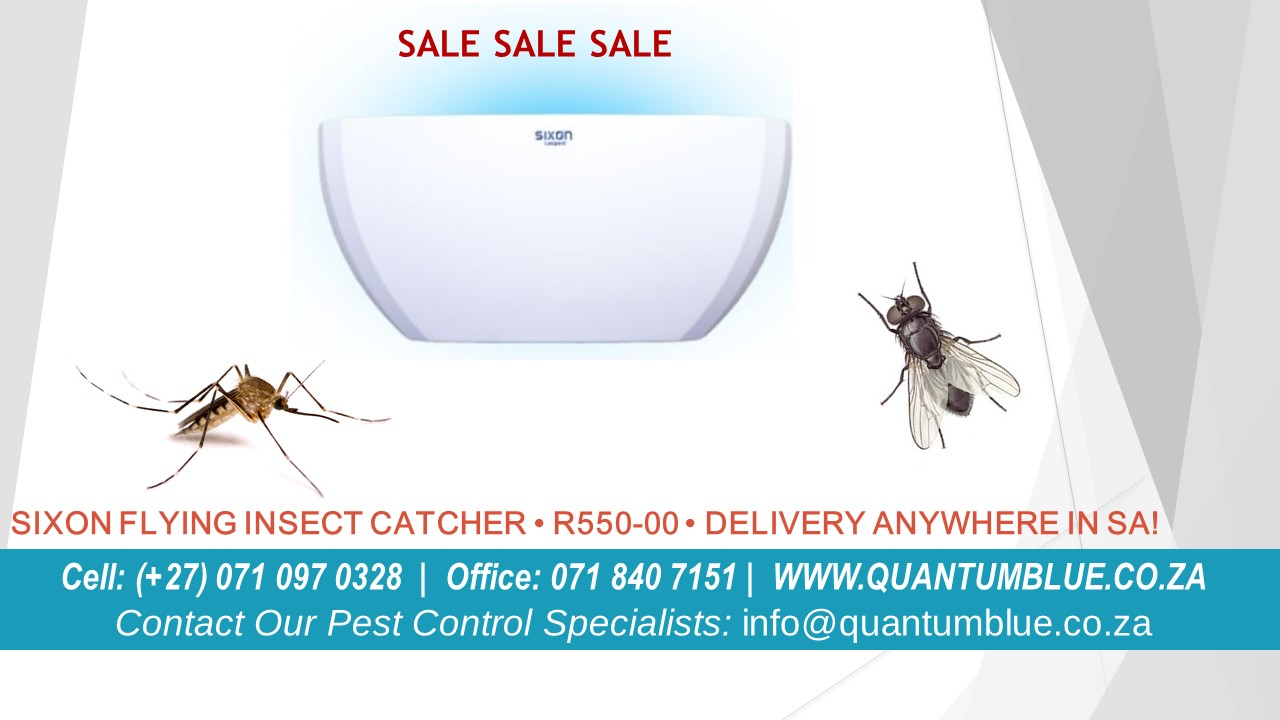 Flying Insect Catcher ZAR500.00/Unit