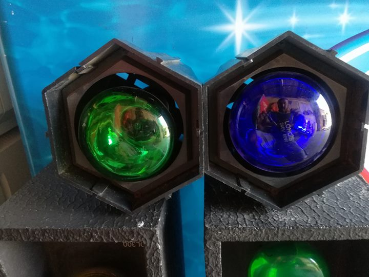 GREEN AND BLUE LIGHTS FOR SALE