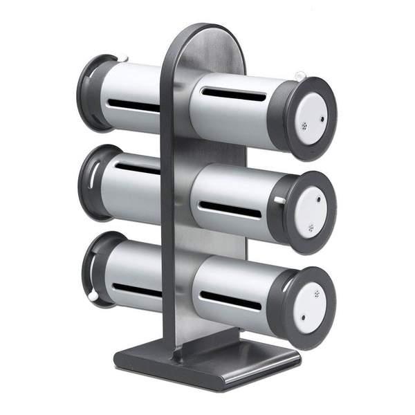 Zero Gravity Spice Rack - 6pc
