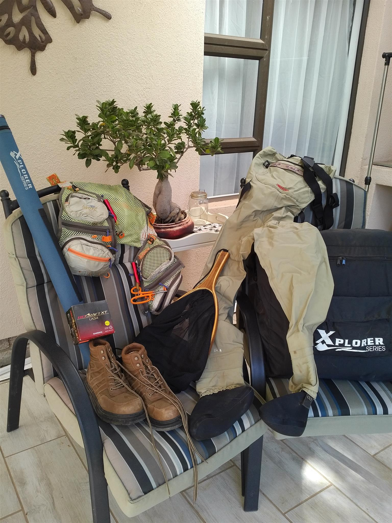 Ladies fly fishing gear junk mail for Used fly fishing gear for sale