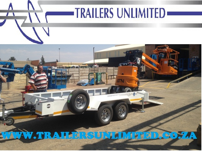 TRAILERS UNLIMITED.  4000 X 2000 X 200 CUSTOM BUILD TO THE CLIENTS NEEDS.