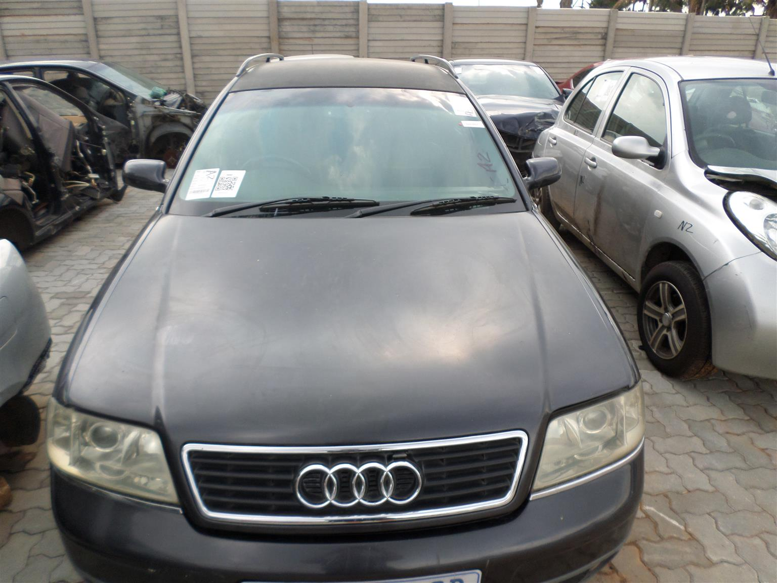 Audi A6 2.4 Avant tiptronic automatic 2001 stripping for all parts
