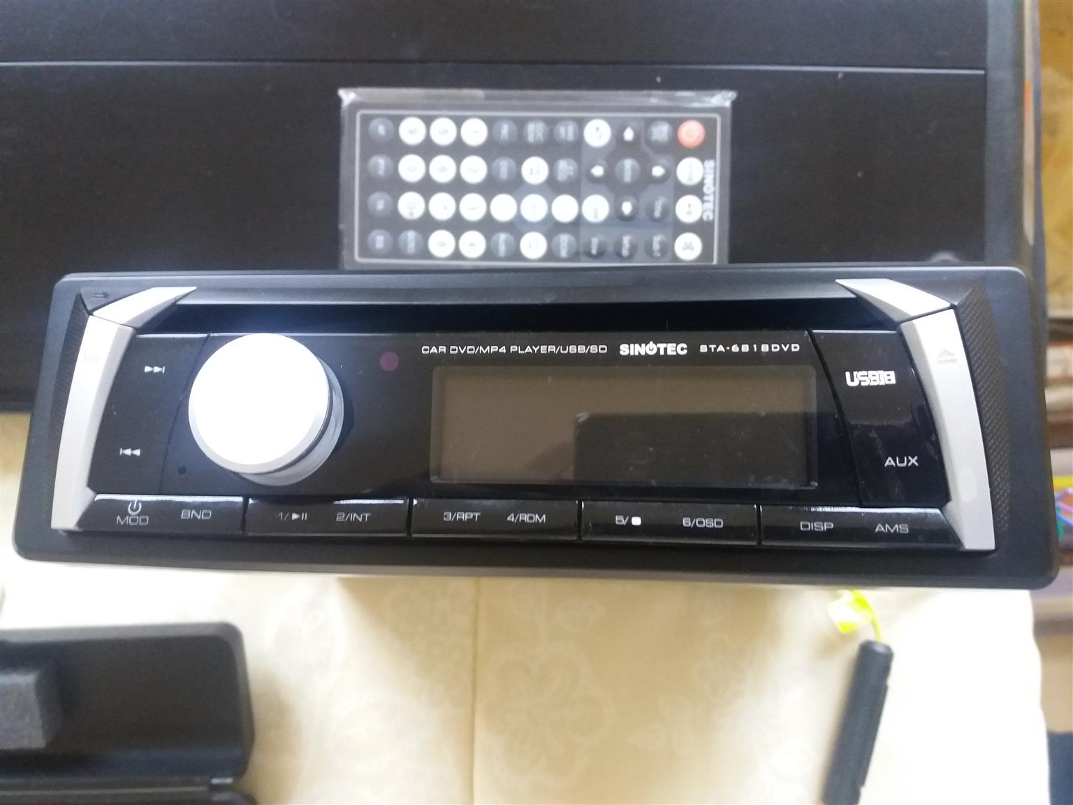 SINOTECH CAR DVD PLAYER / CAR SOUND