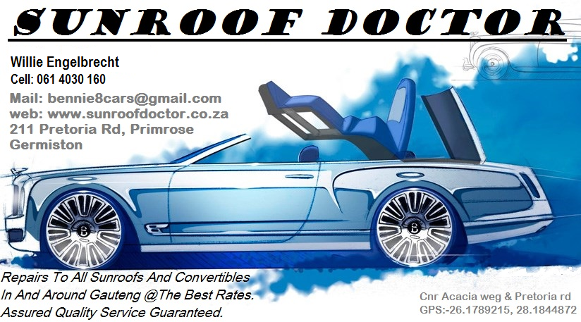 BMW Sunroof and Convertible Repairs