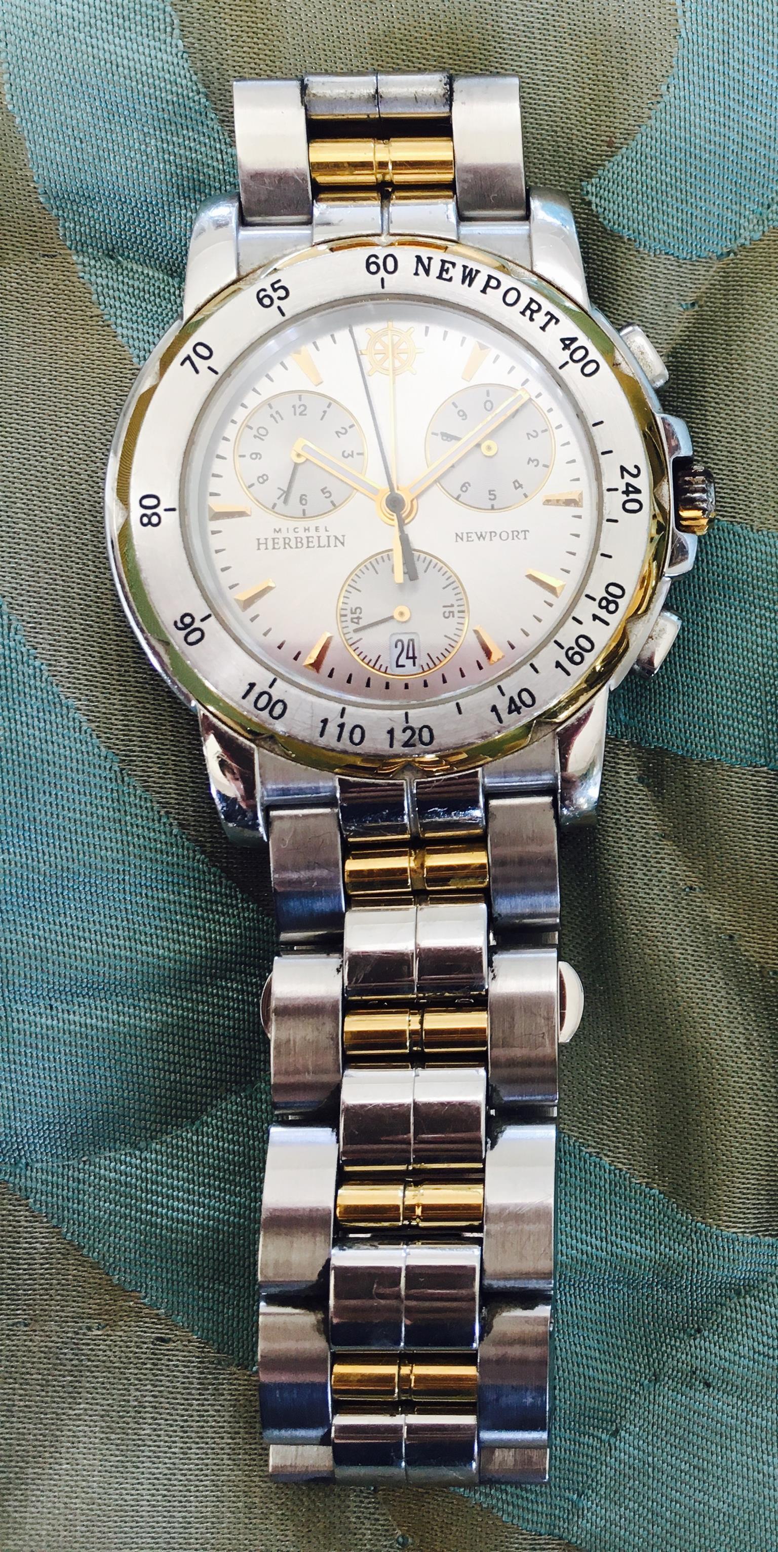 Men's Michel Herbelin watch