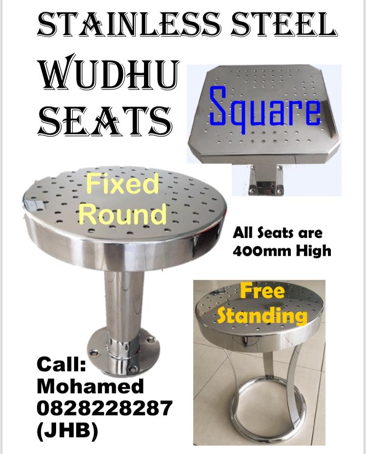 Wudhu Seats