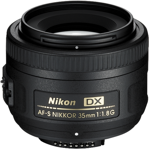 Nikon AF-S 35mm f/1.8 G DX Prime Lens - close to the human eye ito perspective