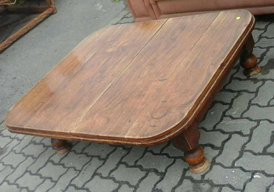 Solid wooden centre table