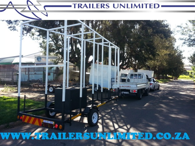 TRAILERS UNLIMITED ADVERTISING TRAILER 6000 X 2000 X 3000