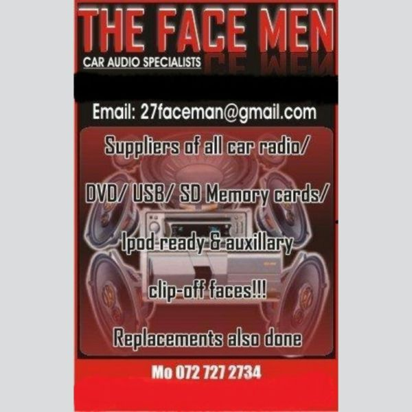 THE FACEMAN CAR AUDIO