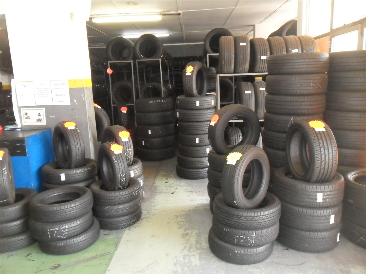 TYRES FOR SALE !