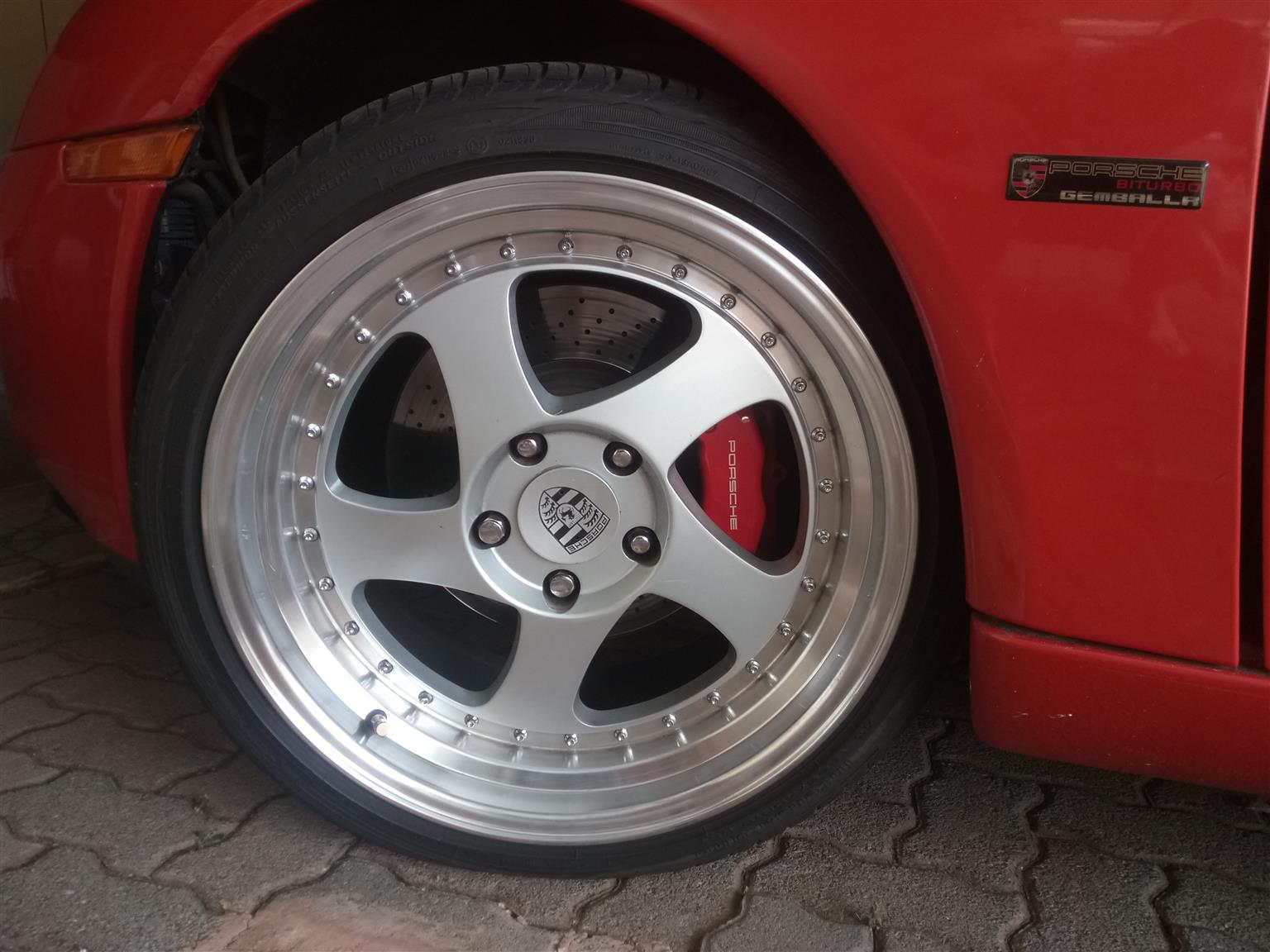 4 * 120PDC Rims with tyres