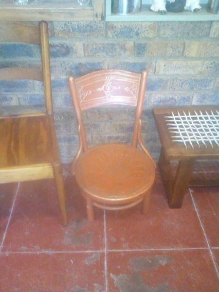 Mini wooden chair