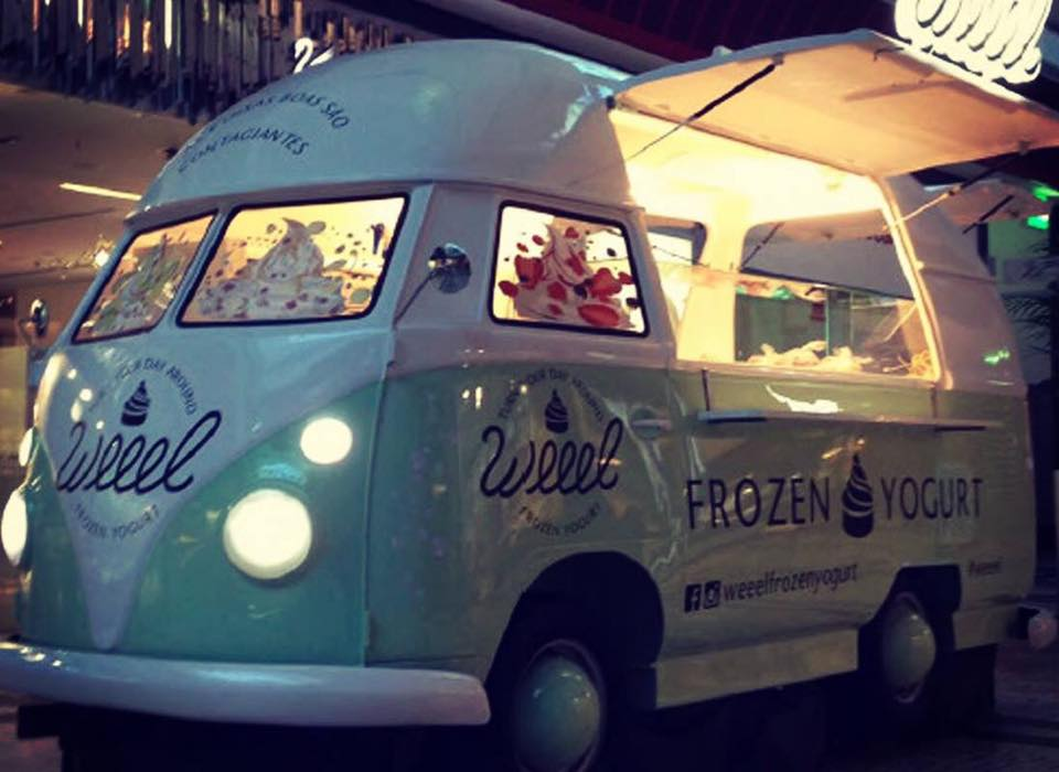 VW Splitty Kombi Classic Food Truck Replica Trailer
