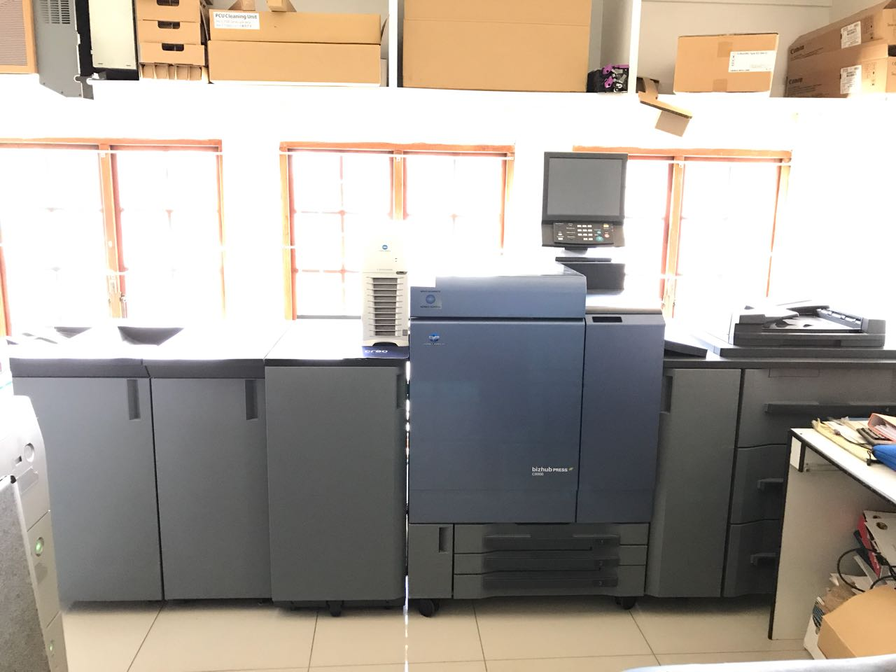 Konica Minolta C8000 copier for sale