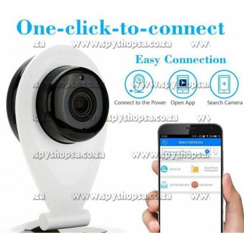 Black Friday Sale | Indoor WiFi Camera for Smartphones