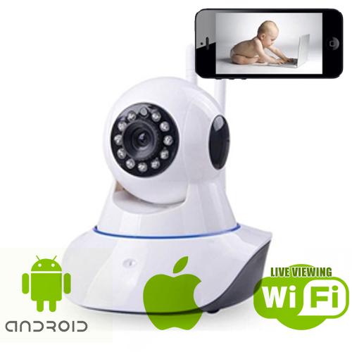 Indoor Nanny Cam 360° for Smartphones
