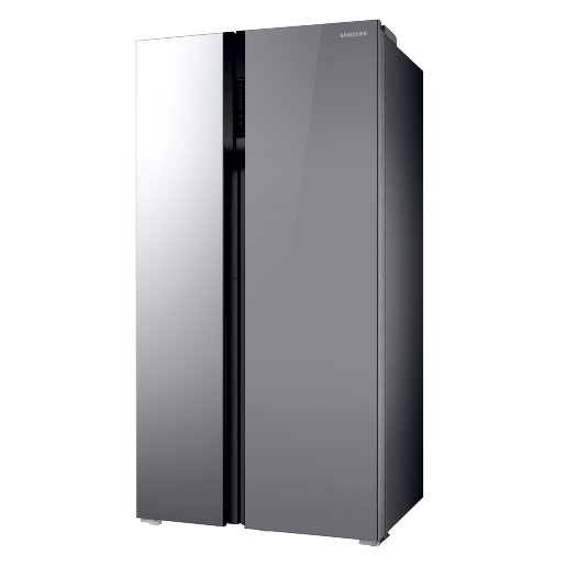 SAMSUNG - 536ltr Side By Side Freezer Fridge Mirror