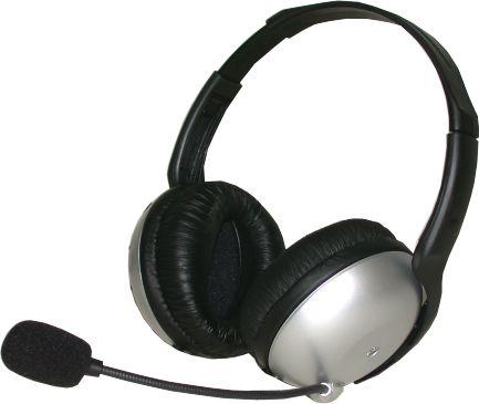 MIC21M Bass Headphones With Microphone