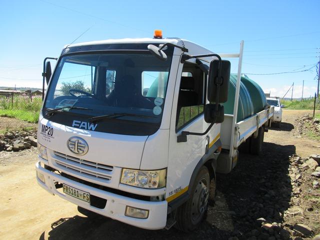 FAW CA15,180FL Dropside Truck