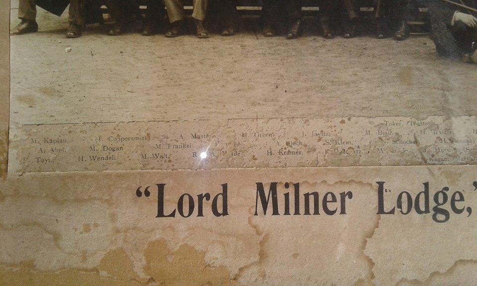 Milner lodge no 21 capetown order of israel