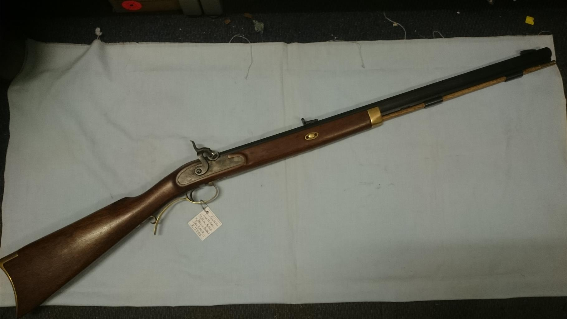Lyman .50cal Black powder muzzle-loading Trade Rifle percussion.