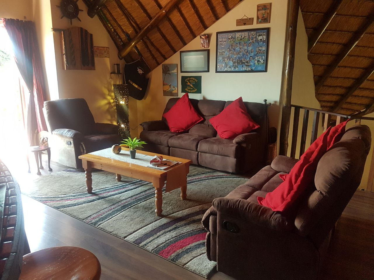 Suede Living Room Set