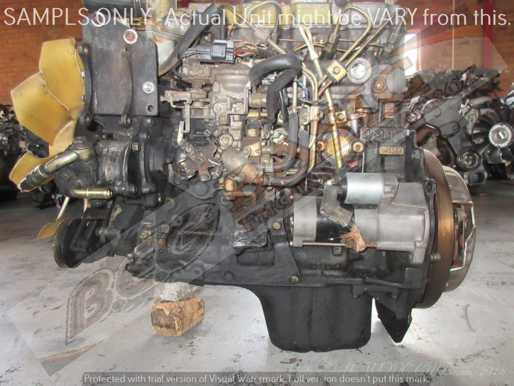 MITSUBISHI PAJERO -4M40 2 8L TURBO DIESEL Engine | Junk Mail