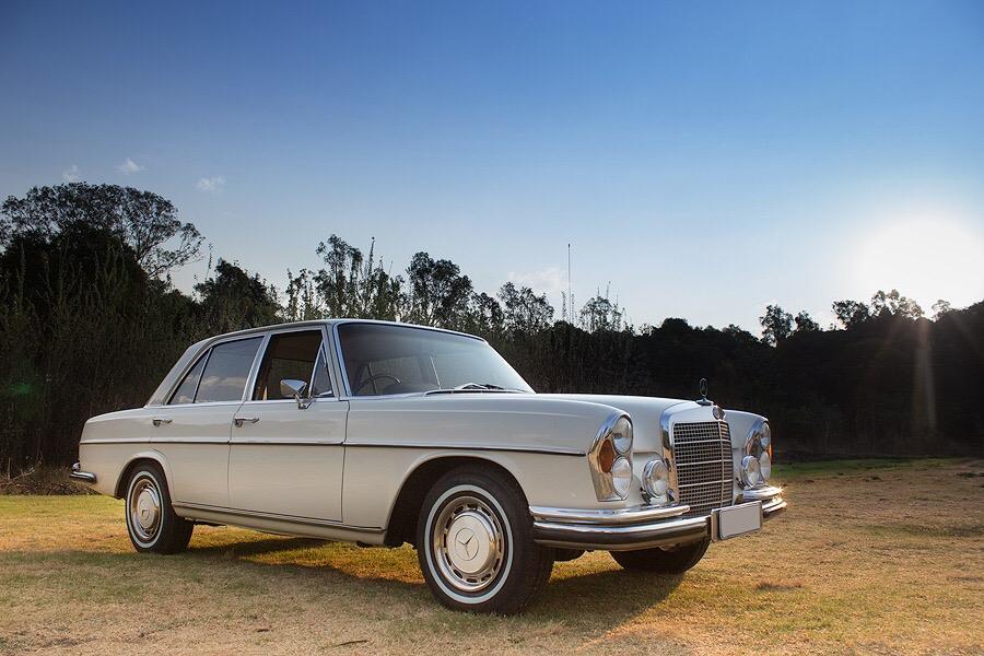 1972 W108 280SE Auto : White with Tan Interior